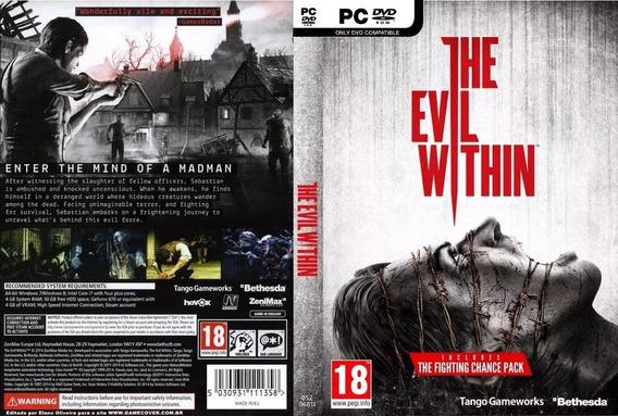 The Evil Within 1 E 2 Pc (midia Física)