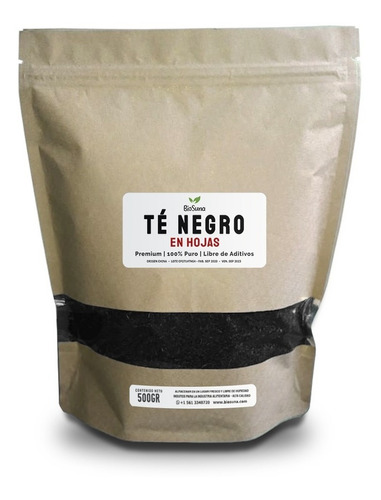 Té Negro En Hojas (1 Libra)