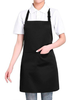 Mandil Master Chef Delantal Cocina Mesero Con Peto Dilitools