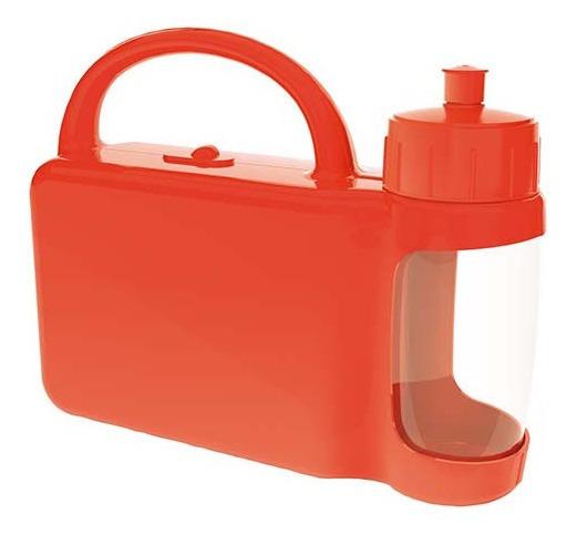 Lonchera De Plastico Con Cilindro Para Niños