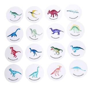 Juego Memoria Memotest Dinosaurios 20 Piezas Ingles/cast