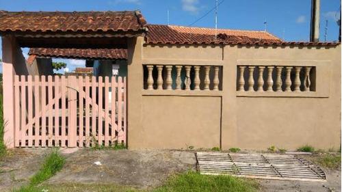 Casa Lado Praia Escriturada No Jamaica Em Itanhaém -4035 Npc