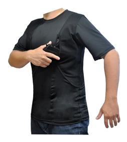 Camiseta Tática Com Coldre Elite