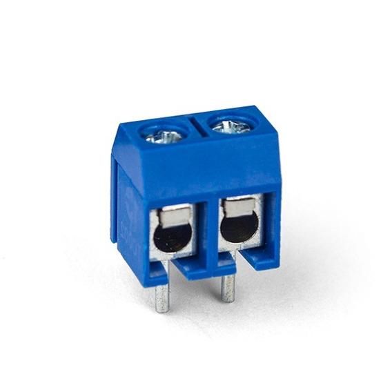 30 X Borne Conector 2 Vias Kre Entradas Pci 5mm Distancia