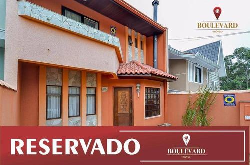 Sobrado Com 3 Dormitórios À Venda, 297 M² Por R$ 800.000,00 - Santo Inácio - Curitiba/pr - So0077