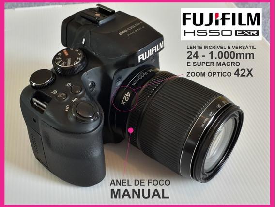 Câmera Fujifilm - Hs50exr Finepix + Kit Completo