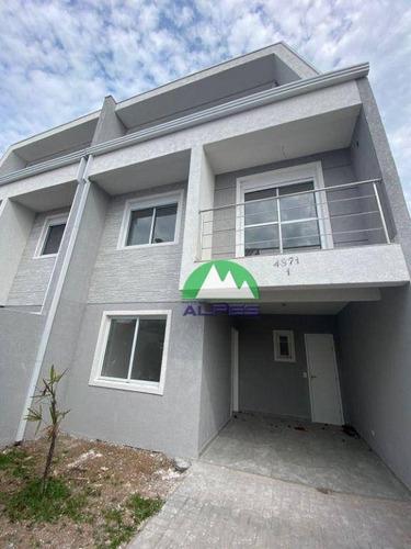 Imagem 1 de 20 de Sobrado Com 3 Dormitórios À Venda, 144 M² Por R$ 598.000,00 - Xaxim - Curitiba/pr - So1190