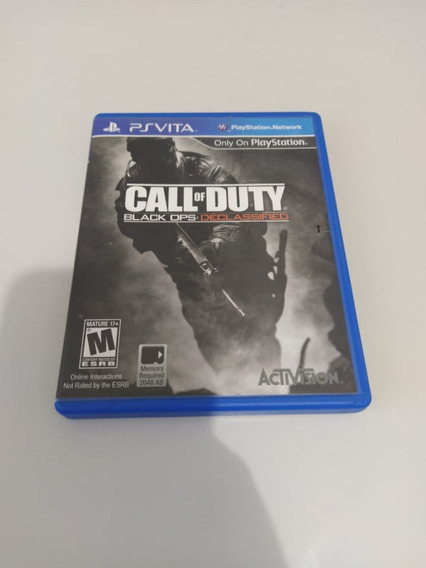 Call Of Duty: Black Ops: Declassified Ps Vita