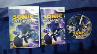 Sonic Unleashed Completo Para Nintendo Wii,excelente Titulo.
