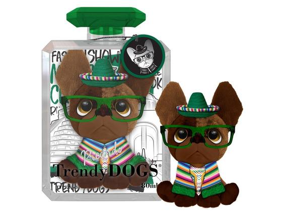 Trendy Dogs Ricardo Peluche Perro Perfumado Anteojos Intek