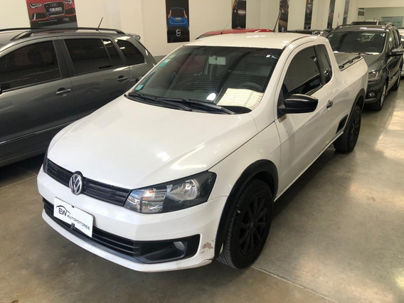 Volkswagen Saveiro Gp C/ext 1.6 Blanco 100% Financiado