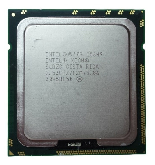 Intel Xeon Six Core E5649 2.53ghz 12mb Cache Lga 1366