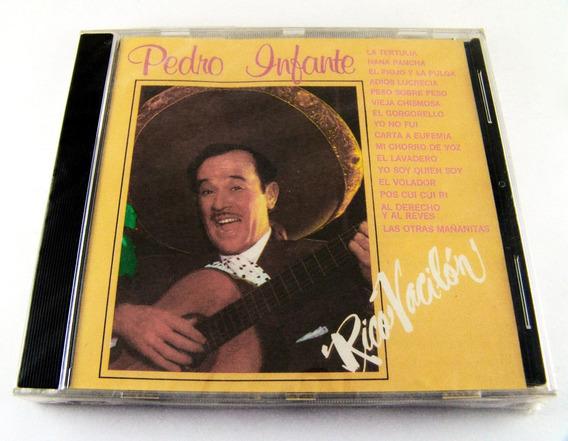 Pedro Infante Rico Vacilon Cd Raro Nuevo Sellado 1988