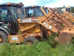 Retroescavadeira Case 580m Traçada 2009 Cabinada Com Ar