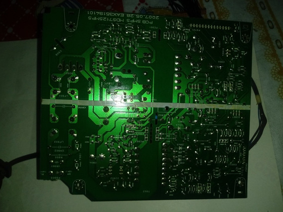 Placa Fonte Som Lg Mcd 212 Mds712series. Eax35194101