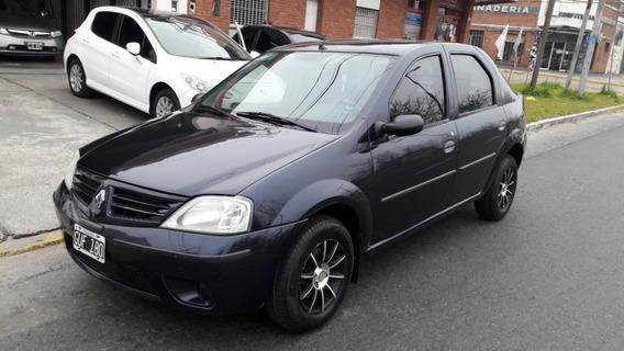 Renault Logan 1,6 Confort Aa Dh 2008 Azul 185.000 Km