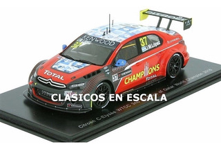 Citroen Wtcc #37 2016 Pechito Lopez World Champ - Spark 1/43