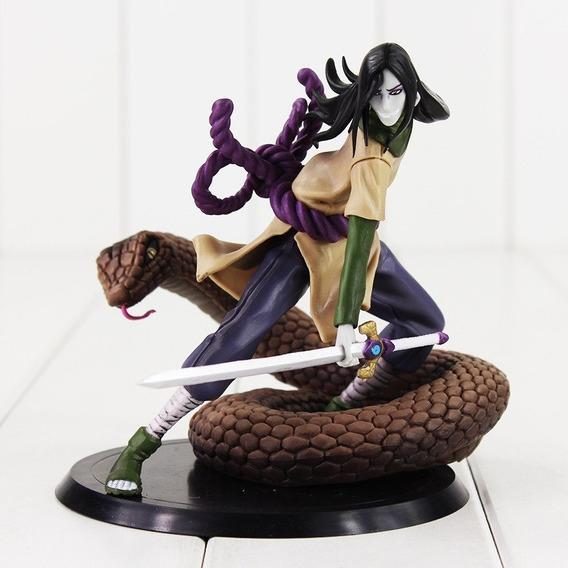 Boneco Naruto Orochimaru Figura Da Serpente Brinquedo Espada