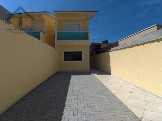 Sobrado Com 2 Dormitórios À Venda, 85 M² Por R$ 285.000,00 - Parque Residencial Scaffid - Itaquaquecetuba/sp - So0117