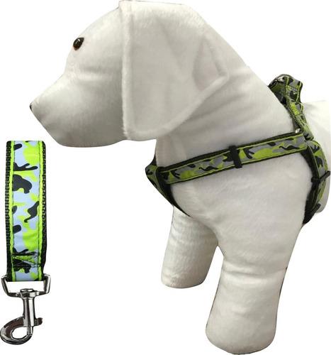 Coleira Peitoral Guia Cachorro Raças Pequenas Poodle Tam M