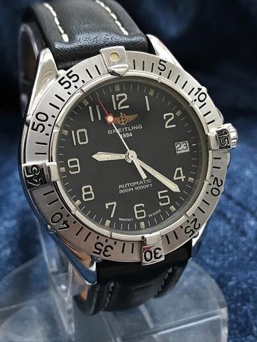 Breitling Colt Automático Veja A Máquina - Temos + Relógios!