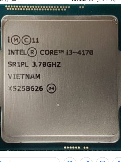 Processador Core I3 4170 @3.70 Ghz Haswell