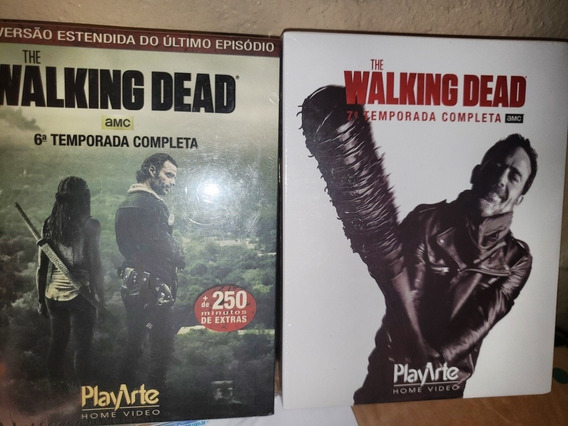 Kit Blu-ray The Walking Dead 6&7