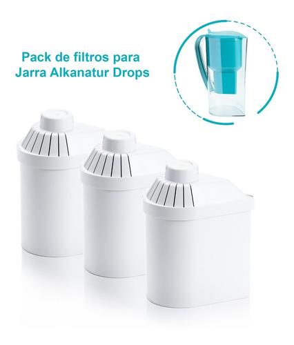Alkanatur Pack De 3 Filtros De Repuesto (400 L Cada Uno)