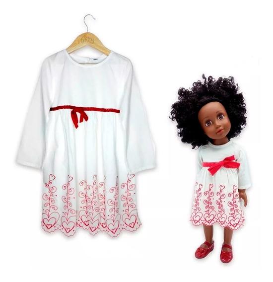 Witty Girls Dulzura Vestido Bff Conjunto Nena Muñeca Ropa