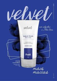 Velvet Luvas De Silicone 80g Profit