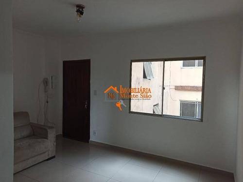 Apartamento Com 2 Dormitórios À Venda, 60 M² Por R$ 212.000,00 - Vila Itapegica - Guarulhos/sp - Ap2825