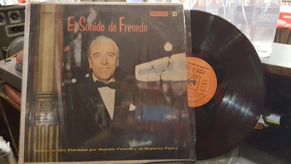 Osvaldo Fresedo El Sonido De Fresero Lp Disco Vinilo Ex