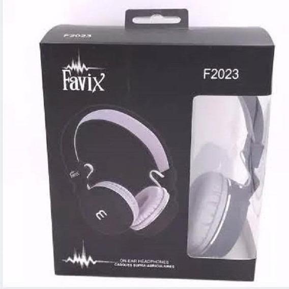 Fone De Ouvido Com Fio Favix-f 2023 Com Microfone