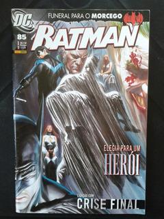 Hq Batman N ° 85 Dezembro 2009 Dc Comics
