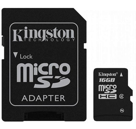 Cartão De Memoria Micro Sd 16gb | Sdcs16gb | Kingston