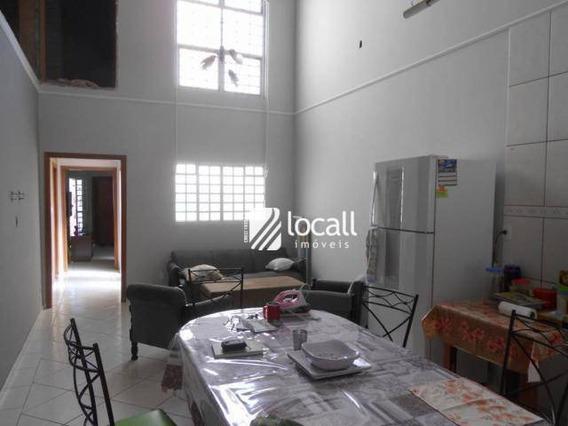 Casa Com 3 Dormitórios À Venda, 192 M² Por R$ 450.000 - Residencial Nato Vetorasso - São José Do Rio Preto/sp - Ca1793