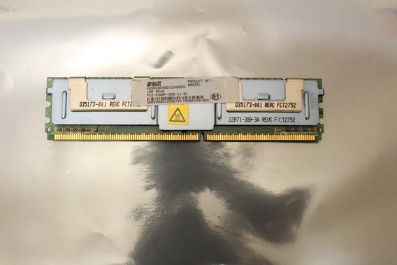 Memória Ram Ecc Smart Pc2 5300f-555-11 B1 1g 2r X 8 C/ Nf-e