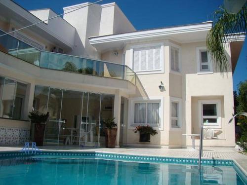 Casa Com 4 Dormitórios À Venda, 420 M² Por R$ 4.500.000,00 - Jurerê Internacional - Florianópolis/sc - Ca0537