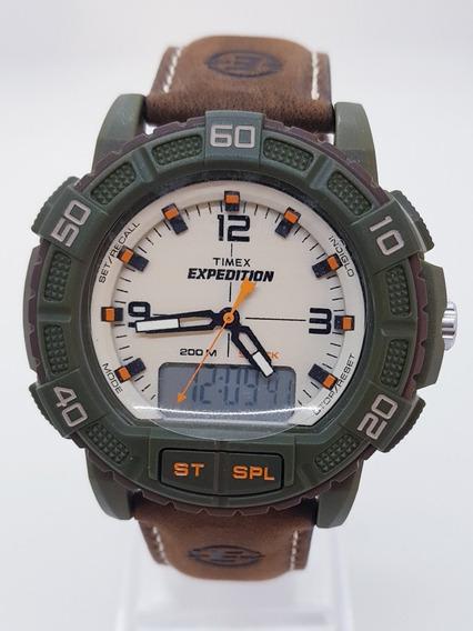Relógio Masculino Timex Quartz Pulseira De Couro
