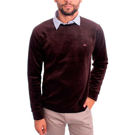 Pack/set X 2 | Buzo Sweater Formal Hombre - Terciopelo