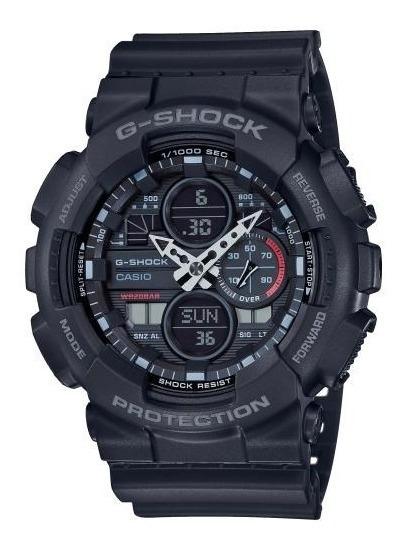 Relógio Casio Masculino G-shock Ga-140 1a1dr Preto Lançament