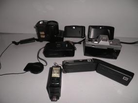 Câmeras Antigas Diversas Marcas No Estado. Kit Com 6