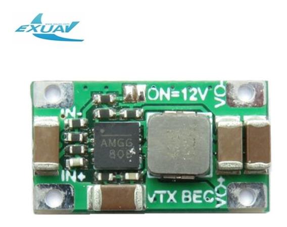Exuav 2-6s Dc-dc Conversor Passo Down Módulo 5v/12 V Bec Saí