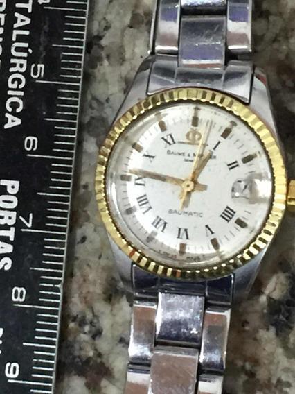 Relógio Original Automático Baume Mercier