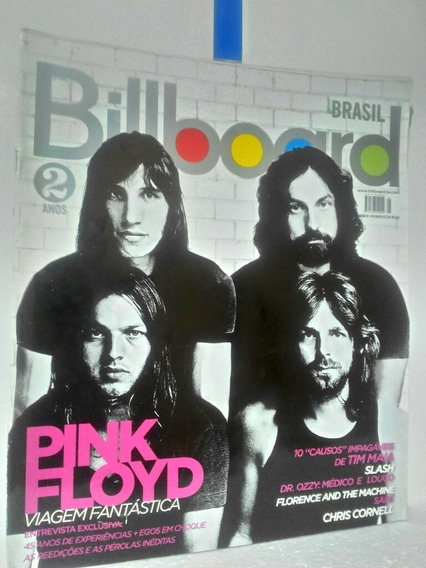 Revista Billboard Pink Floyd N.25