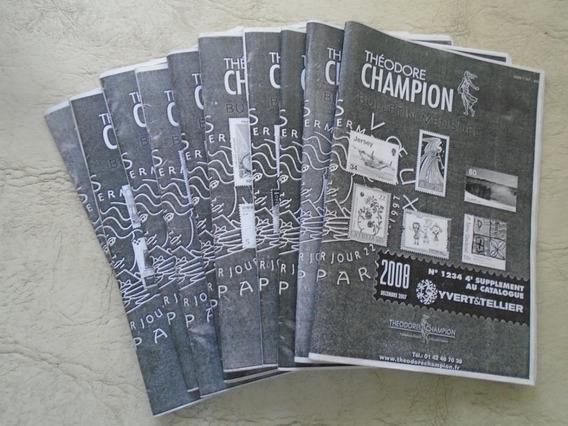 Catálogos Yvert -tellier 2008. Actualizaciones.oferta.