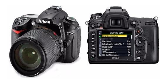 Nikon D7000 +flash Nikon Sb-22+ Lente Hd Grande Angular