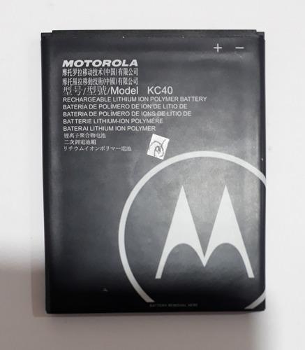 Imagen 1 de 2 de Batería Motorola Moto E6 Plus 100% Original