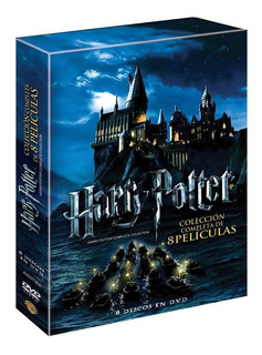Harry Potter Coleccion Completa 8 Dvd Nuevo Cerrado Original