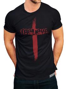Camiseta Verssage Cristã I Believe - Eu Acredito
